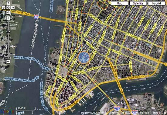 New York Habitat Maps  Google Maps   New York Habitat Blog new york habitat map 2