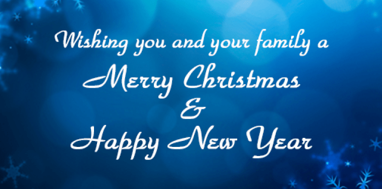 Family Happy New Merry Christmas Your And Wishing And Year Quotes You