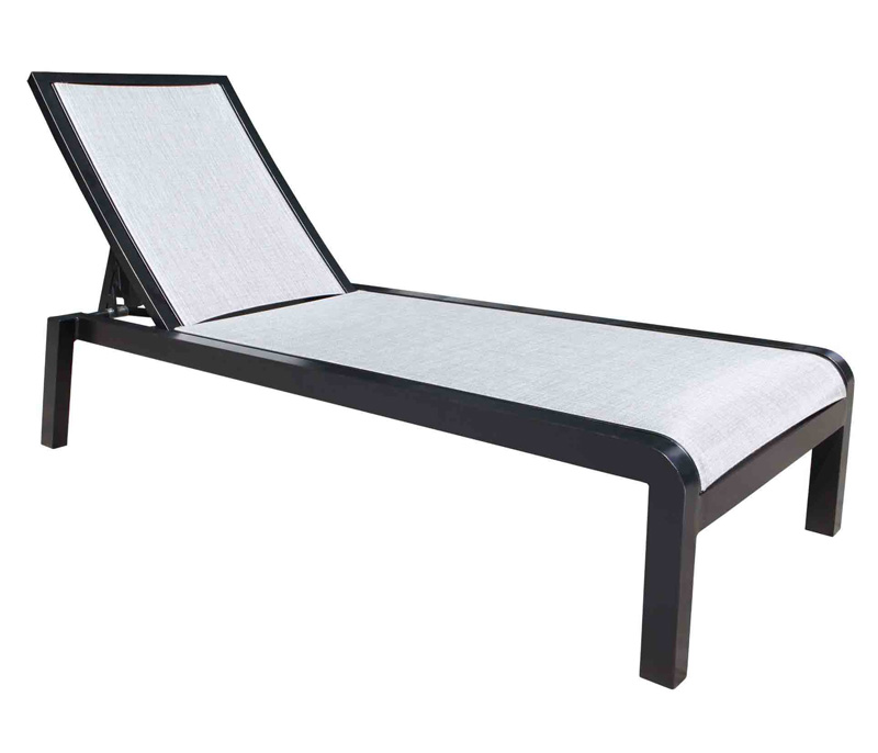 Sunbrella Commercial Sling Chaise Lounge