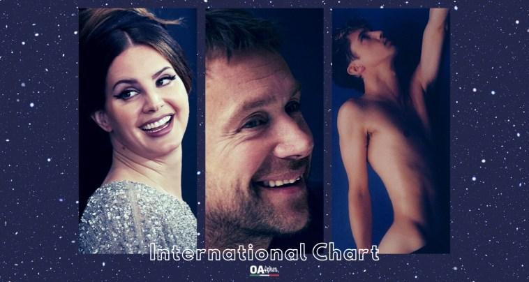 OA PLUS INTERNATIONAL CHART (WEEK 37/2021): irrompono Damon Albarn, Lana Del Rey e Troye Sivan