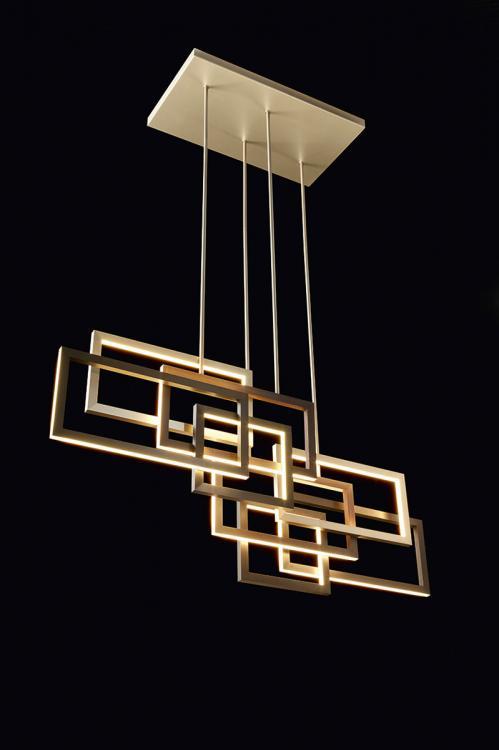 Brown Pendant Light