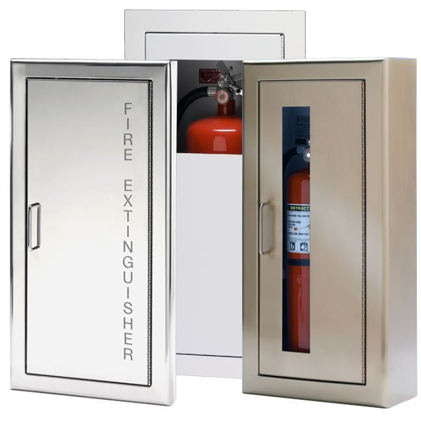 Custom Wall Mount Fire Extinguisher Cabinets