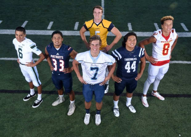 California High School Football Players