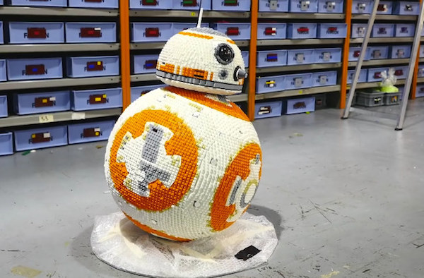 10 Awesome Life Size Lego Creations Oddee