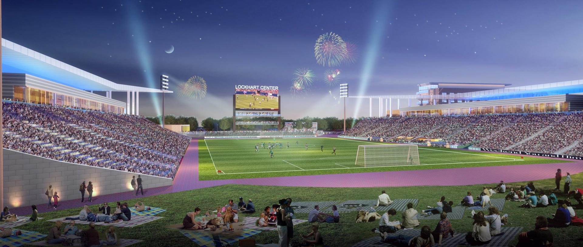 Lockhart Stadium Odell Architecture