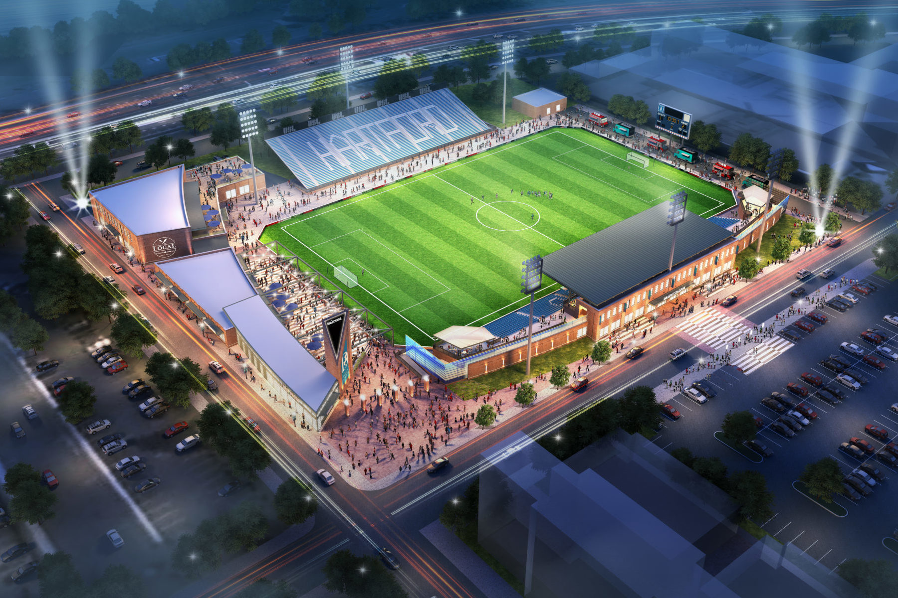 Dillon Stadium Odell Architecture
