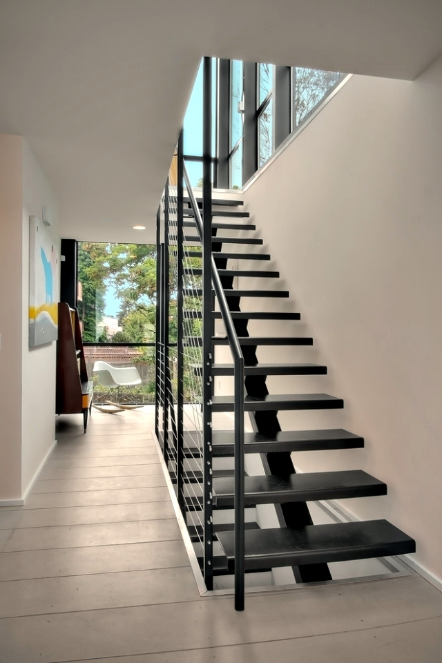 The Modern Steel Staircase Inside And Outside For Amazing Design | Style Of Stairs Inside House | Outside India House | Spiral | Design | Mansion | Historic House