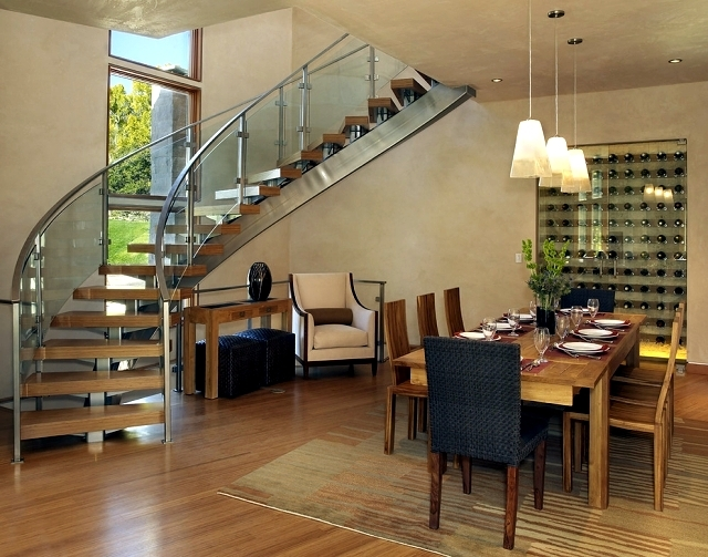 The Modern Steel Staircase Inside And Outside For Amazing Design | House Steps Design Outside | Renovation | Fancy | Second Floor | Interior | Patio