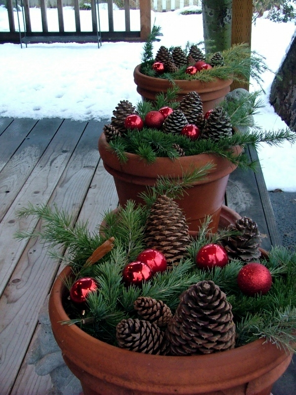 Winter decorating with natural materials     20 great ideas   Interior     Winter decorating with natural materials   20 great ideas