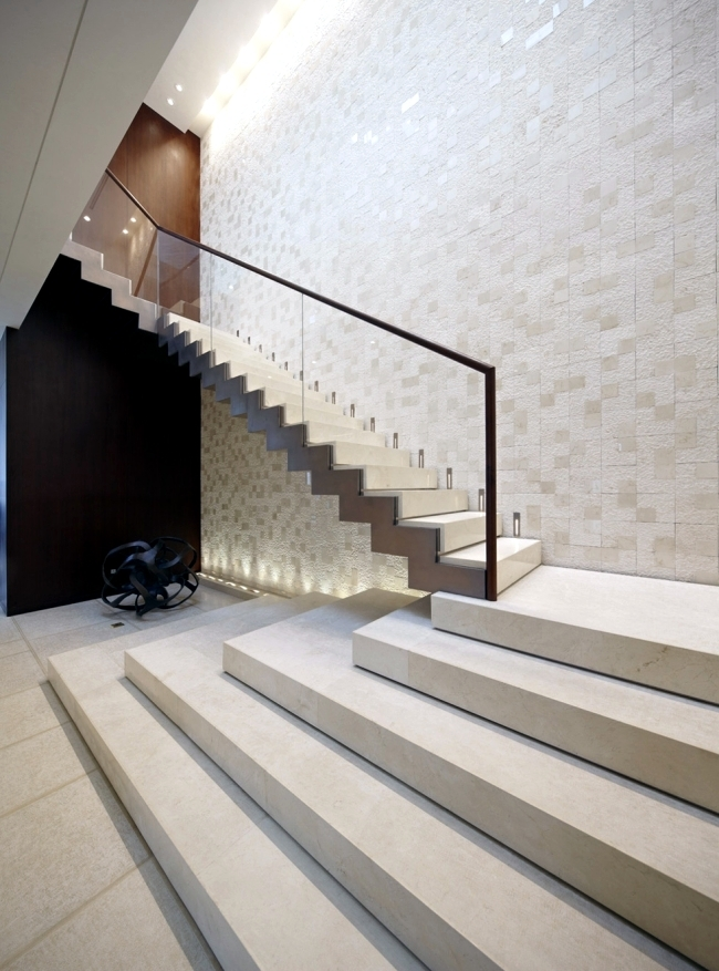 99 Modern Staircases Designs – Absolute Eye Catcher In The Living | Staircase Side Wall Designs Tiles | Decorative | Unusual | Wall Painting | Front House | Modern