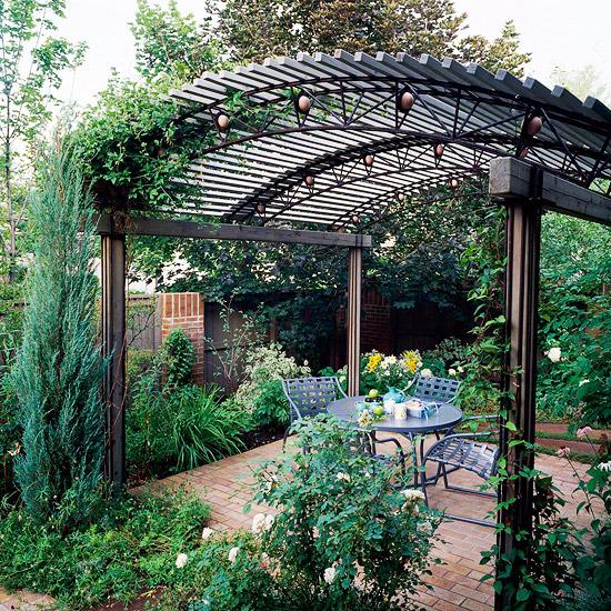 Pergola In The Garden 10 Interesting Ideas For Wooden