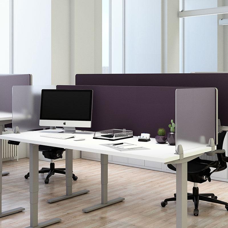 Desk Dividers Coronavirus Barriers Office Furniture Ez