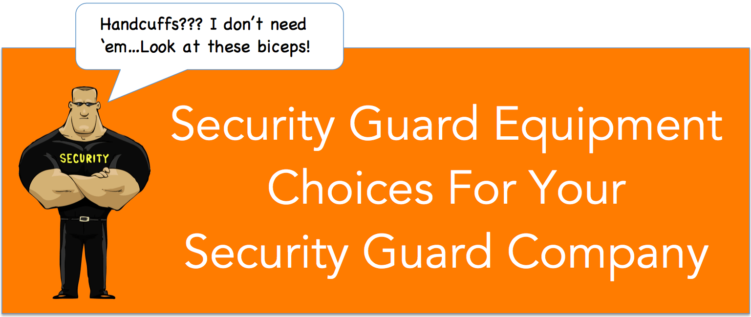 Security Guard Buy Where Equipment