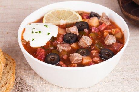 گوشت ملی Solyanka