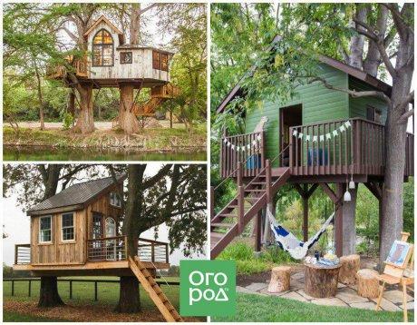 домик на дереве, как построить, как построить домик