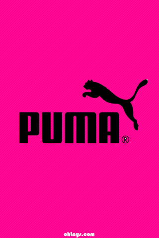 Pink Puma iPhone Wallpaper | #1209 | ohLays