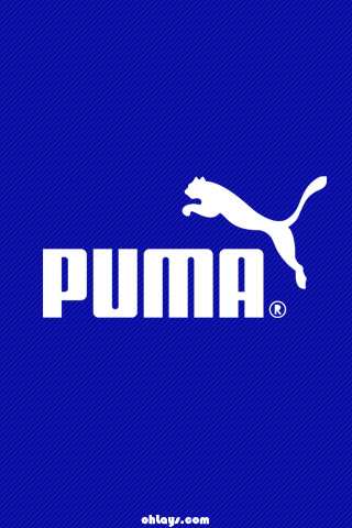 Blue Puma iPhone Wallpaper | #1210 | ohLays