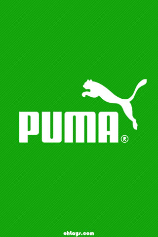 Green Puma iPhone Wallpaper   #1211   ohLays