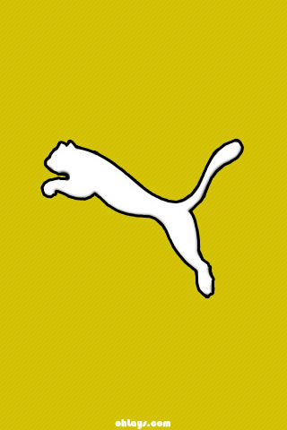 Yellow Puma iPhone Wallpaper | #1204 | ohLays