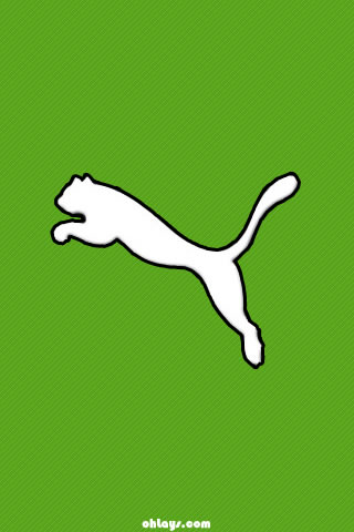 Green Puma iPhone Wallpaper | #1205 | ohLays