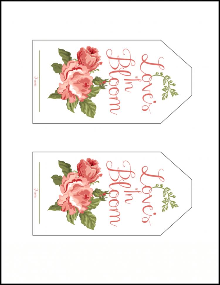 Flower Wedding Favors