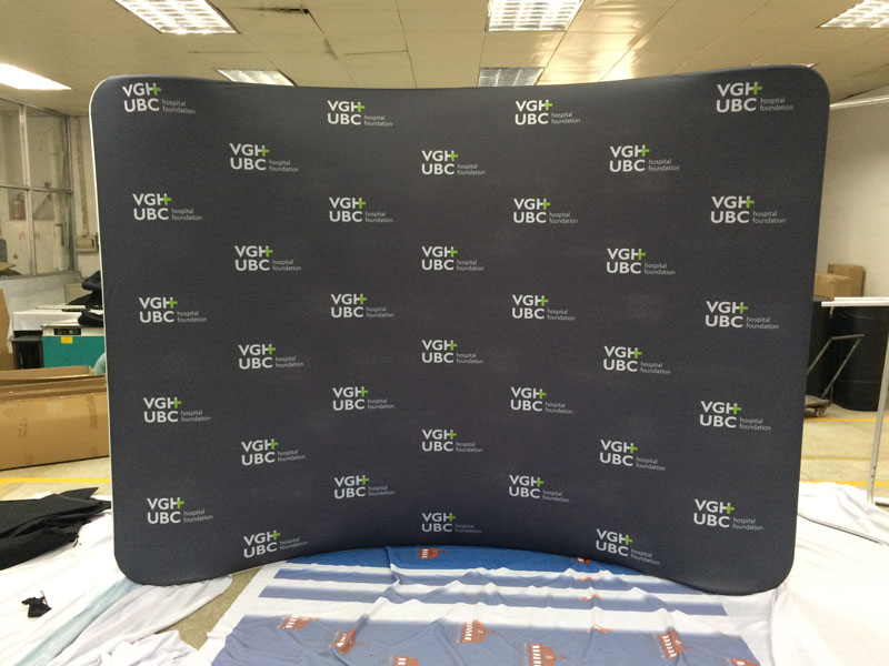 20 Wide Step And Repeat Banner