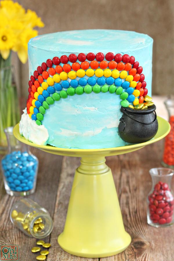 Happy Blue Birthday Cake
