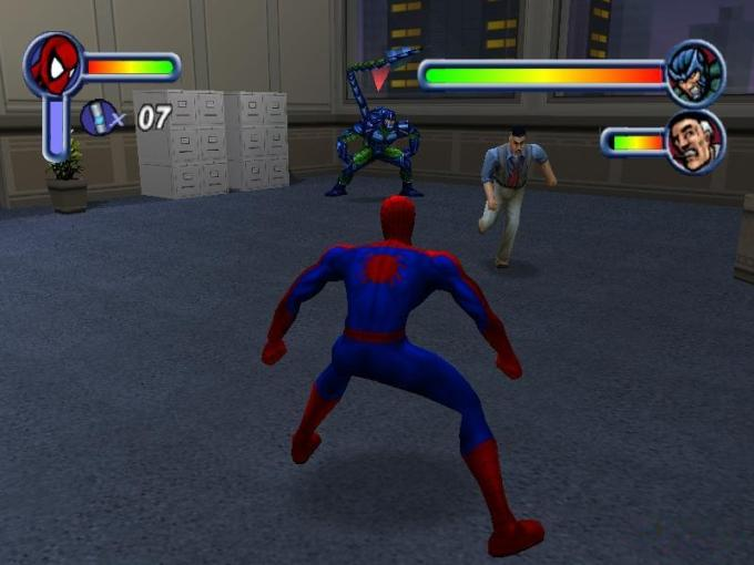 Spider Man Download  2001 Arcade action Game      Spider Man screenshot  4