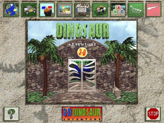 Dinosaur Adventure Download  1993 Educational Game      Dinosaur Adventure screenshot  3