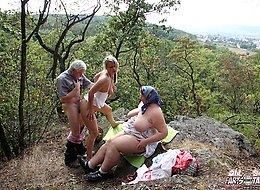 Teen loves sex on mountain