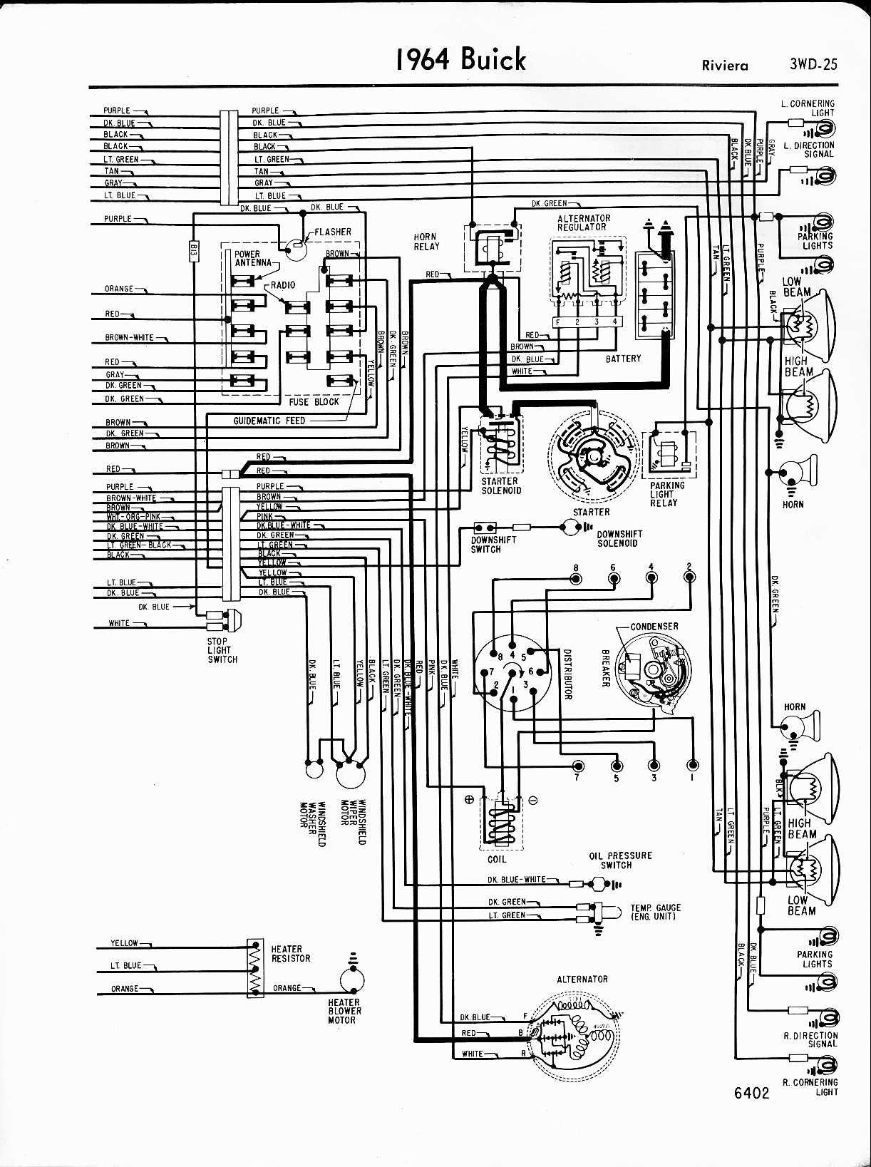 1958 Pontiac Chieftain Parts Wiring Diagram