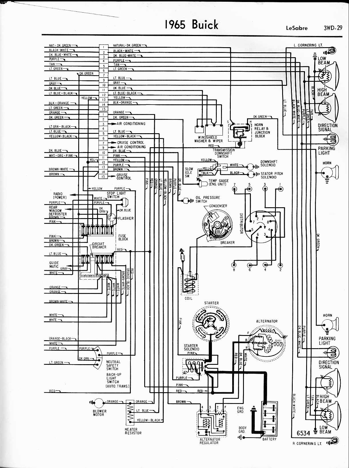 1960 Impala Wiring Diagram With Alternator Library