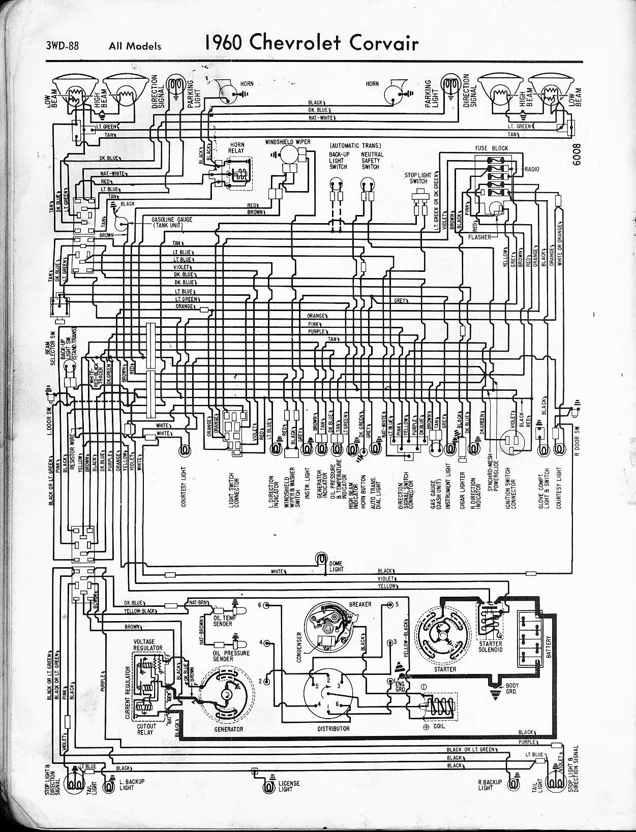 1951 Chevy Car Wiring Diagram Chevrolet