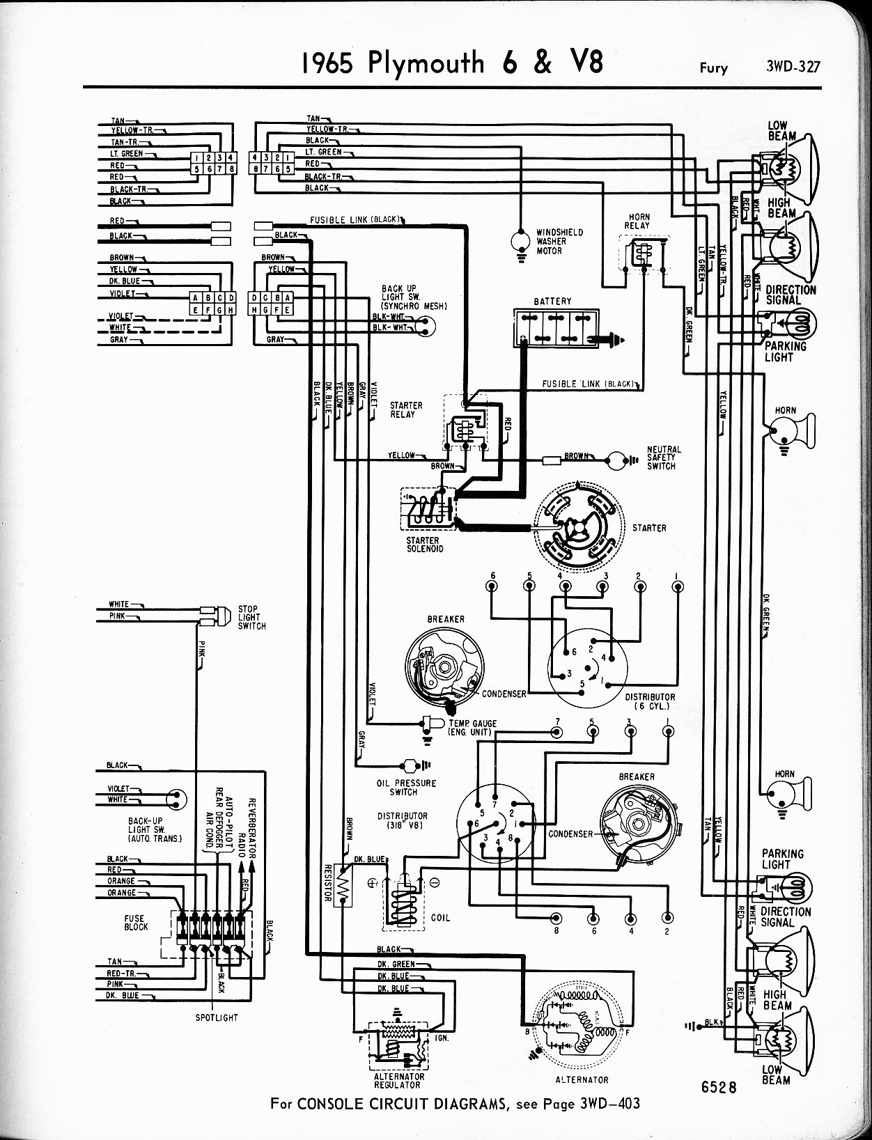 Electrical wiring diagrams of 1956 chrysler and imperial all about 1956 1965 plymouth wiring the old car manual project rh oldcarmanualproject 1956