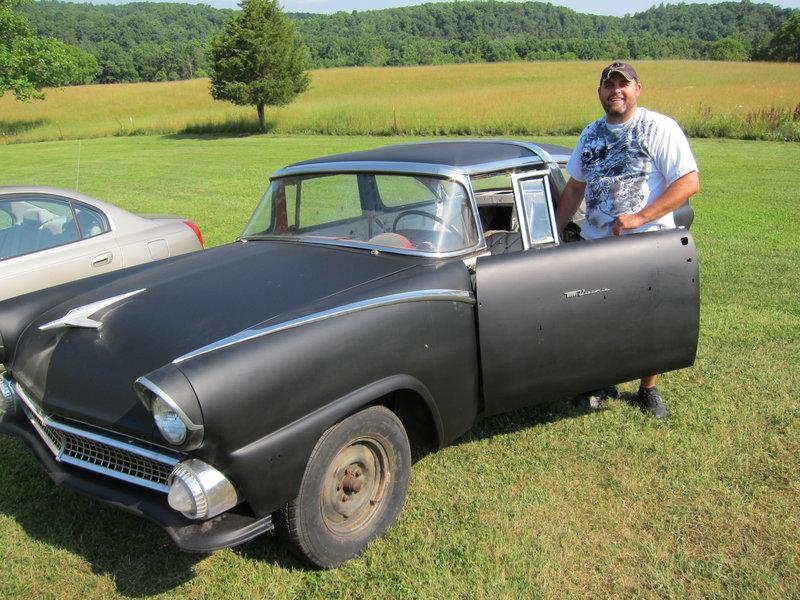 Ford 1955 Fairlane Crown Victoria