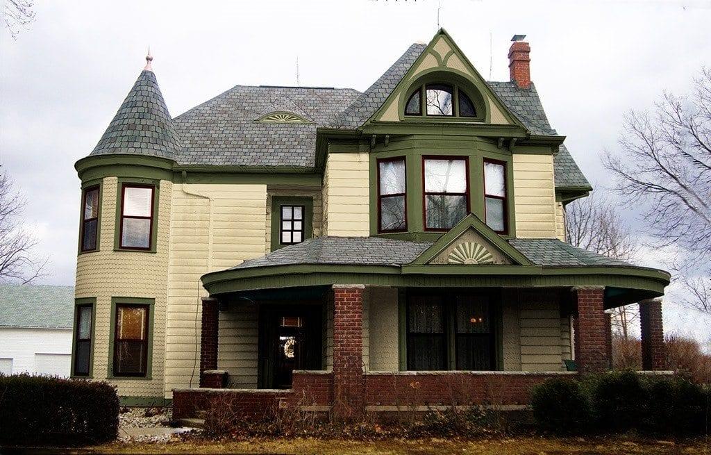 Victorian Home Paint Schemes