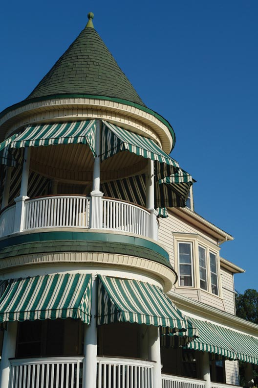 How To Save Energy With Awnings Restoration Amp Design For The Vintage House Old House Online