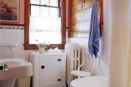 How to Design a Small Bathroom   Restoration   Design for the     bright bathroom