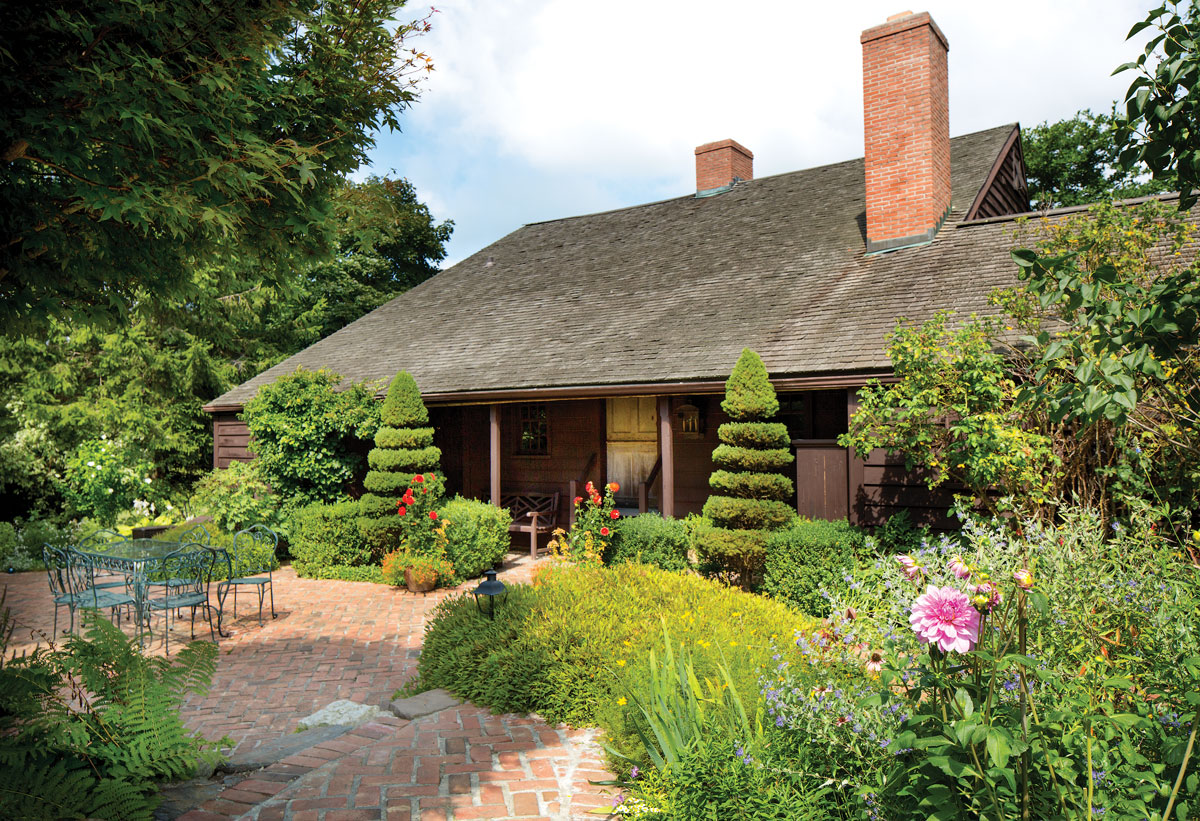 Hudson Valley Dutch Dwelling Relocated And Restored Restoration Amp Design For The Vintage House