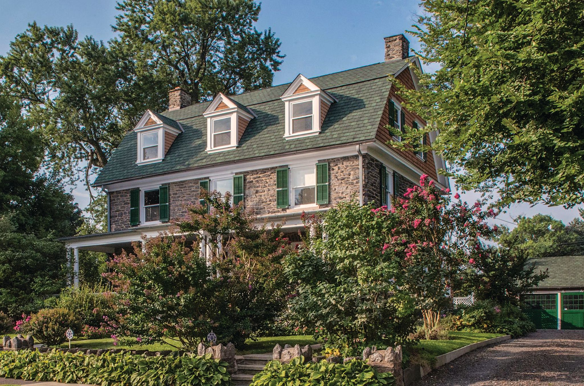 Real Estate 1903 Stone Dutch Colonial In Elkins Park Pa