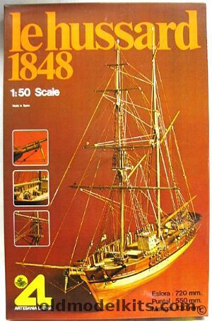 Artesania Latina 1 50 Le Hussard 1848 400