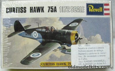 Revell 1/72 Curtiss Hawk 75A (P-36) - Finnish Air Force ...