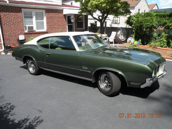 1971 Oldsmobile Cutlass S Belleville Nj