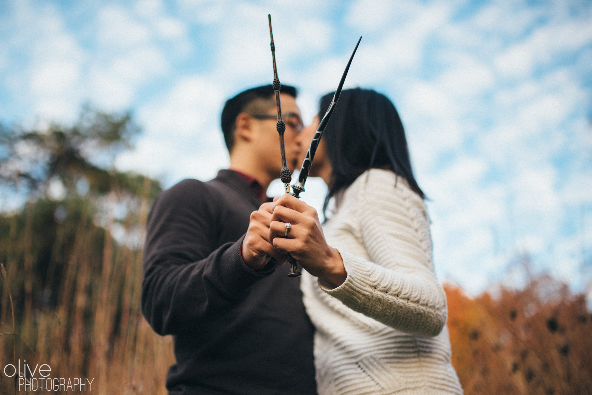 Harry Potter Engagement Session Olive Photography