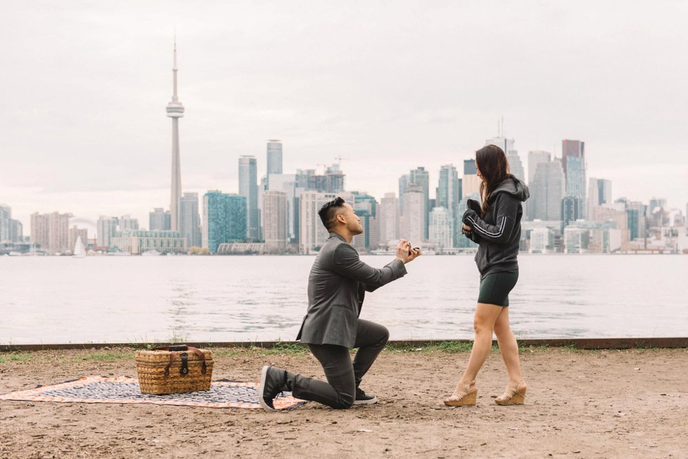 Toronto Proposal Photography   Andy   Viv   Olive Photography Toronto proposal photographer   Olive Photography