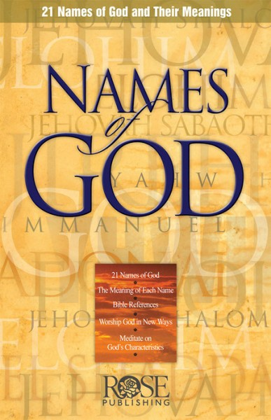 Names of God by Rose Publishing... for the Olive Tree ...