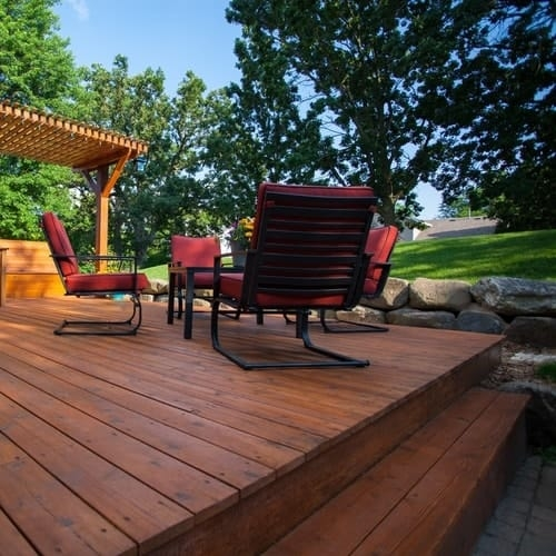 Top Deck Stain Colors For Pressure Treated Wood All Your Wood | Best Wood For Outdoor Stairs | Deck Railing | Stair Stringer | Handrail | Staircase | Railing