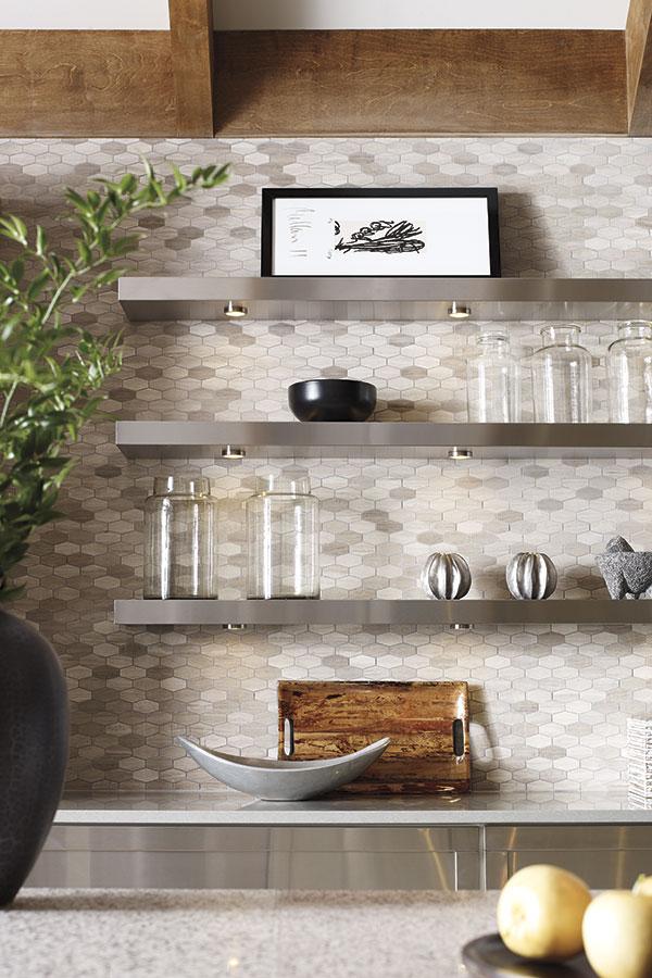 Floating Shelves Omega Cabinetry