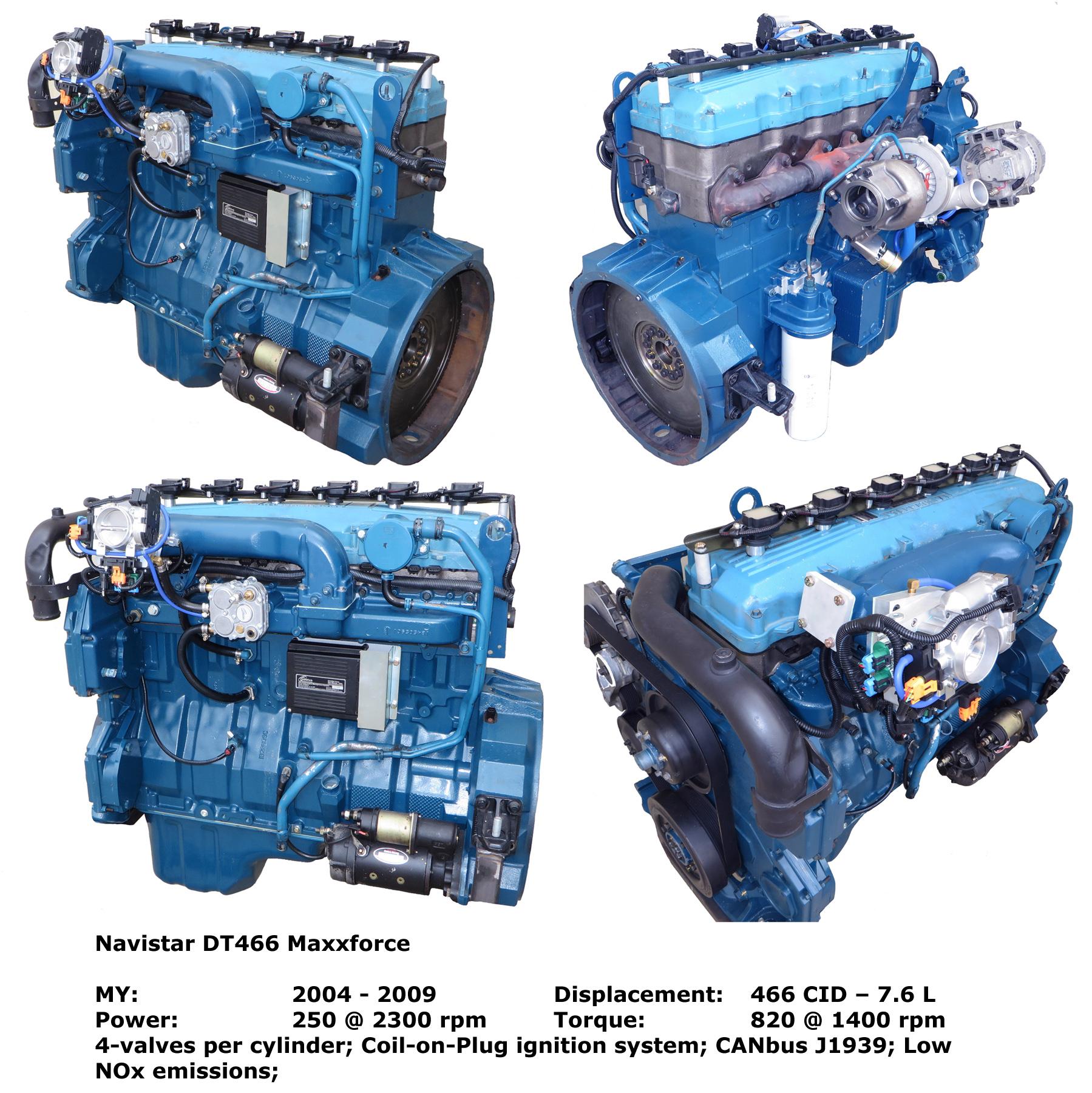 International T444e Engine Diagram