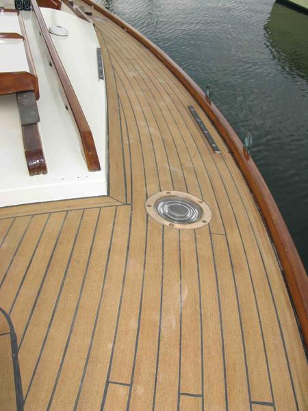 Laying Teak Decking On Board With Mark Corke